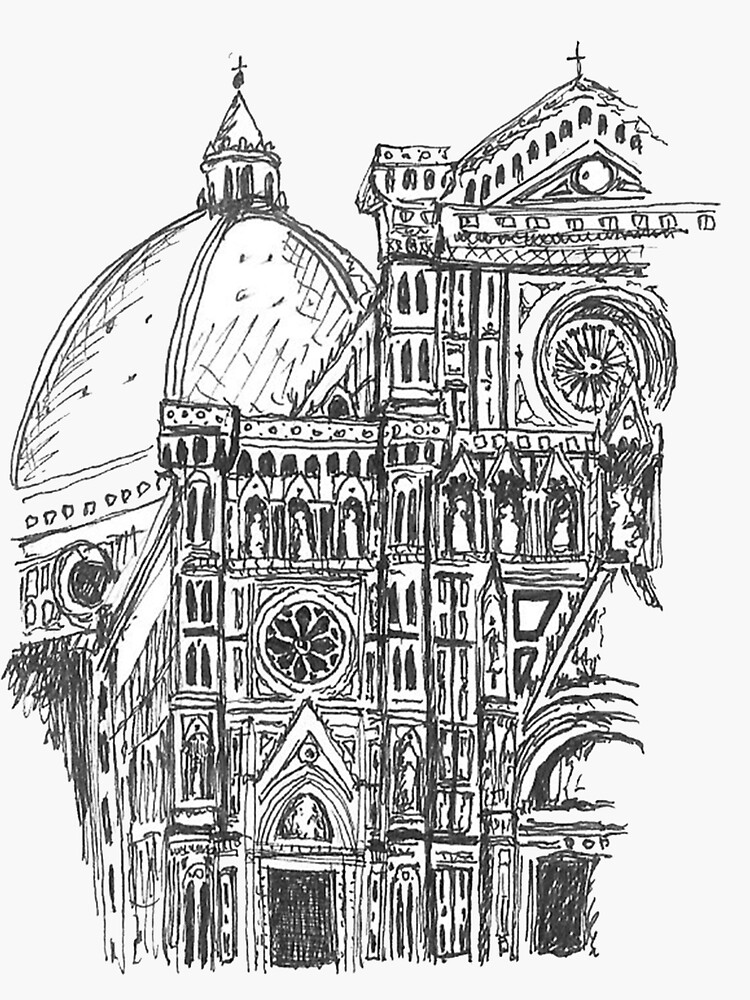 Florence Dome by giuliartsy