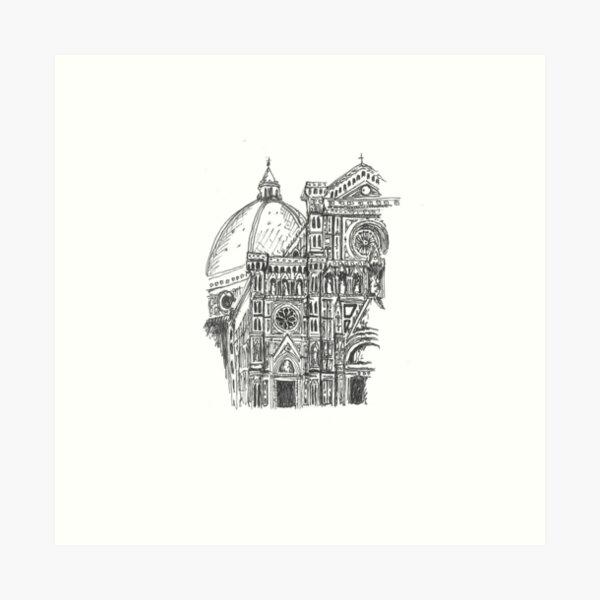 Florence Dome Art Print
