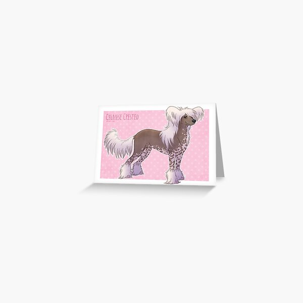 Chinese Crested - Hairy Hairless Greeting Card