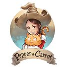 « Logo officiel de Pepper&Carrot » par David  Revoy