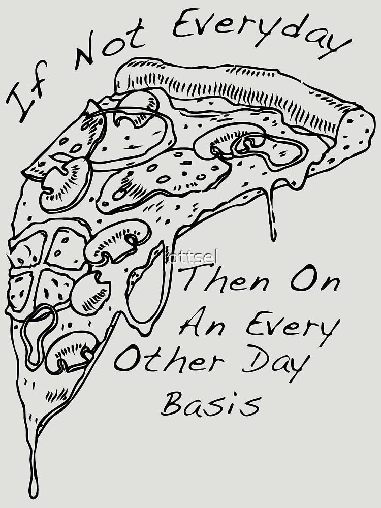 The Front Bottoms Pizza | Unisex T-Shirt