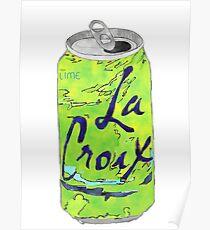 Limey Luft Wasser Poster