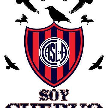 San Lorenzo Argentina Cuervo Tshirt de Tropicalis