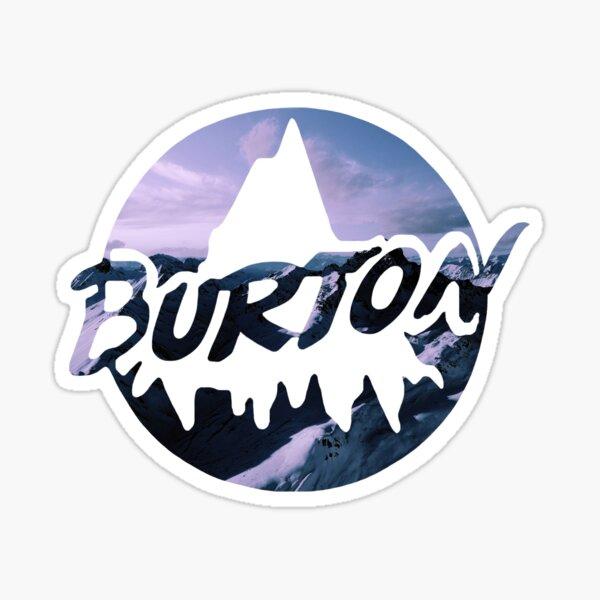 Burton Snowboards Logo Sticker