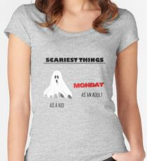 Scariest Things Women's Fitted Scoop T-Shirt
