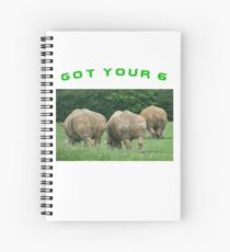Got Your 6 Spiral Notebook