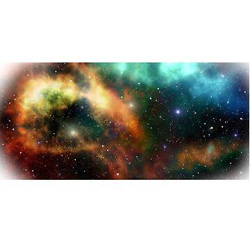 starry sky by Freezel