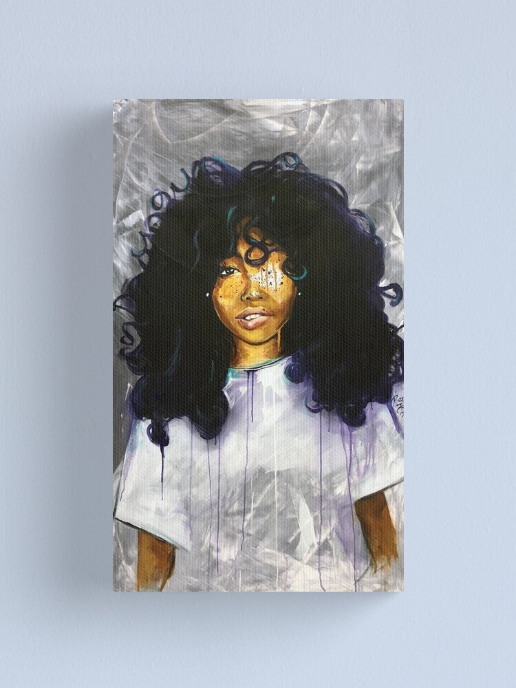 Alternate view of Naturally SZA  Canvas Print