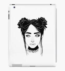 Head full of roses iPad Case/Skin