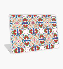 pastel circle pattern abstract colorful seamless repeat Laptop Skin