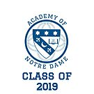 Academy of Notre Dame- Class of 2019  by elwwood