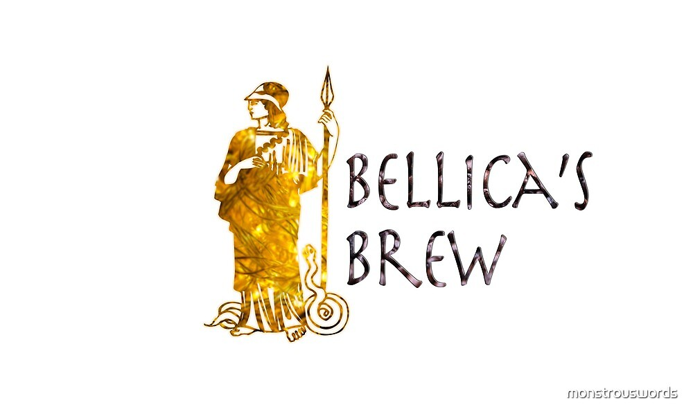 Bellica's Brew Mug by monstrouswords