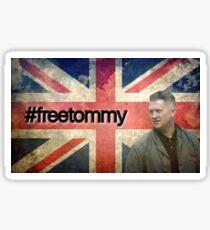 #FreeTommy - Stickers & Prints Sticker