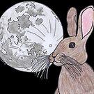Moon Rabbit by HopeCvon