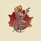 Fall Druid by cosamo