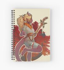 Fall Druid Spiral Notebook