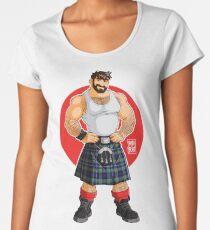 ADAM LIKES KILTS Women's Premium T-Shirt