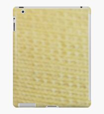 YELLOW KNIT iPad Case/Skin