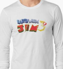 Earthworm Jim 3D Long Sleeve T-Shirt