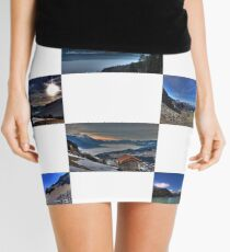 Austrian Mountains Mini Skirt