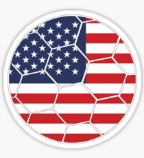 USA Football (Soccer) Design Sticker