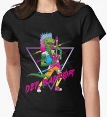 Def Raptor Women's Fitted T-Shirt