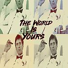 Al Pacino - The World Is Yours by Razmanian Designs