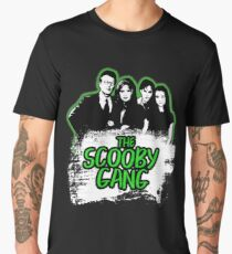 The Scooby Gang in Acid Green [BTVS] Men's Premium T-Shirt