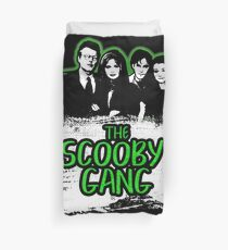 The Scooby Gang in Acid Green [BTVS] Duvet Cover