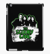 The Scooby Gang in Acid Green [BTVS] iPad Case/Skin