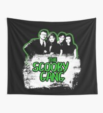 The Scooby Gang in Acid Green [BTVS] Wall Tapestry