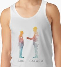 Vintage Father And Son Funny Father's Day T-shirts Men's Tank Top