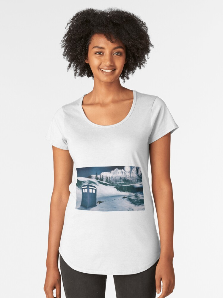 Time to change Women's Premium T-Shirt Front