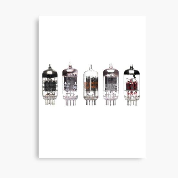 Vacuum Tubes Canvas Print