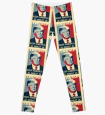 President TRUMP Keep America Great 2020 Leggings