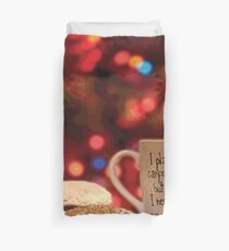 CARPE DIEM COFFEE Pop Art Duvet Cover
