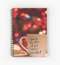 Cuaderno de espiral CARPE DIEM CAFÉ Pop Art