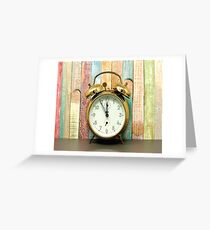 ELEVENTH HOUR Pop Art Greeting Card