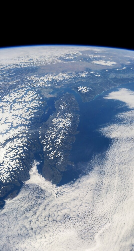 Vancouver Island from Earth orbit by CosmicStyles