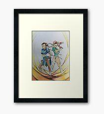 Warrior Sisters Framed Print