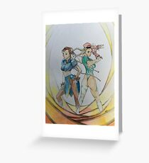 Warrior Sisters Greeting Card