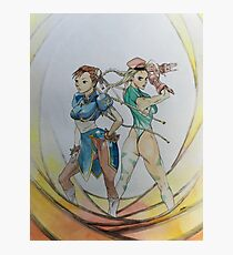 Warrior Sisters Photographic Print