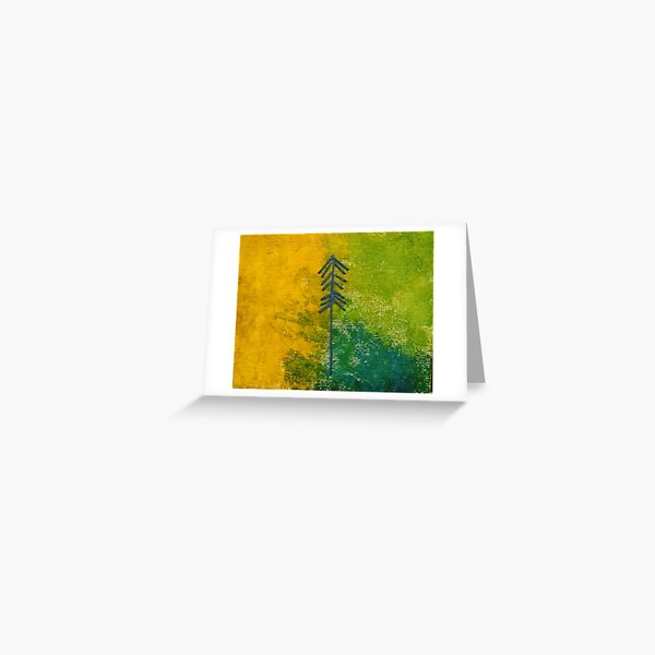 Tiny Burst of Beauty Abstract3 Greeting Card
