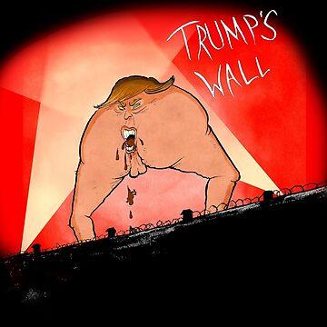 Trump's Wall by TheHeadbanger93