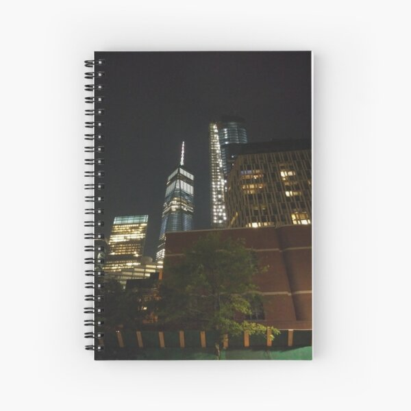Manhattan, #Manhattan, New York, #NewYork, NYC, #NYC, New York City, #NewYorkCity Spiral Notebook