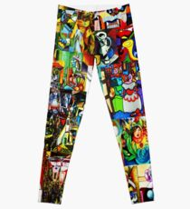 Legging Collage retrospectivo de Picasso