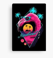 Rad Flamingo Canvas Print