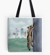 MPR Raccoon print by Megan Tegeder Tote Bag