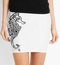 Tribal Seahorse original Mini Skirt