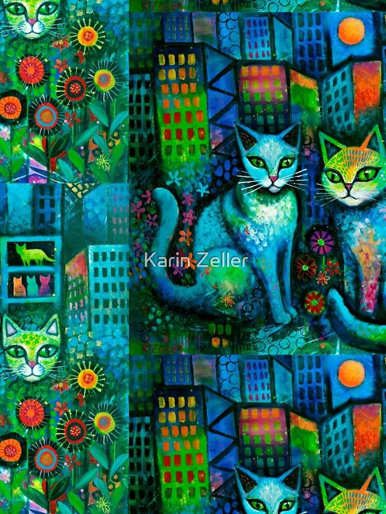 Cat tale  by karincharlotte